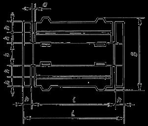 3-х лотковый складной с боковыми усиленными стенками с  клапанами в застежку с дном