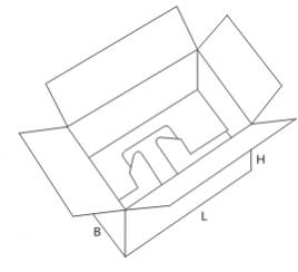 коробки сложной высечки серии 02xx