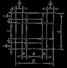 оберточный складной из одной заготовки со стыкующимися наружными и внутренними клапанами