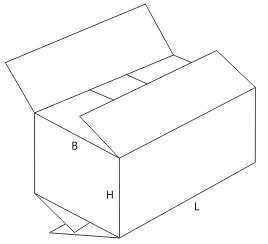 прочие четырёхклапанные ящики